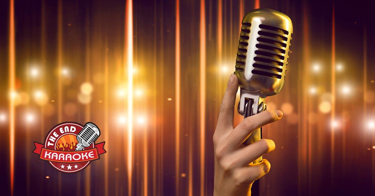 Microfoon met sparkles